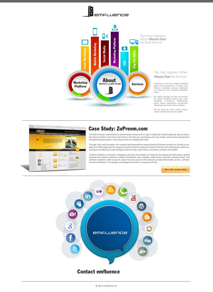 #29 for Website Design, Responsive, HTML5 by Opacity