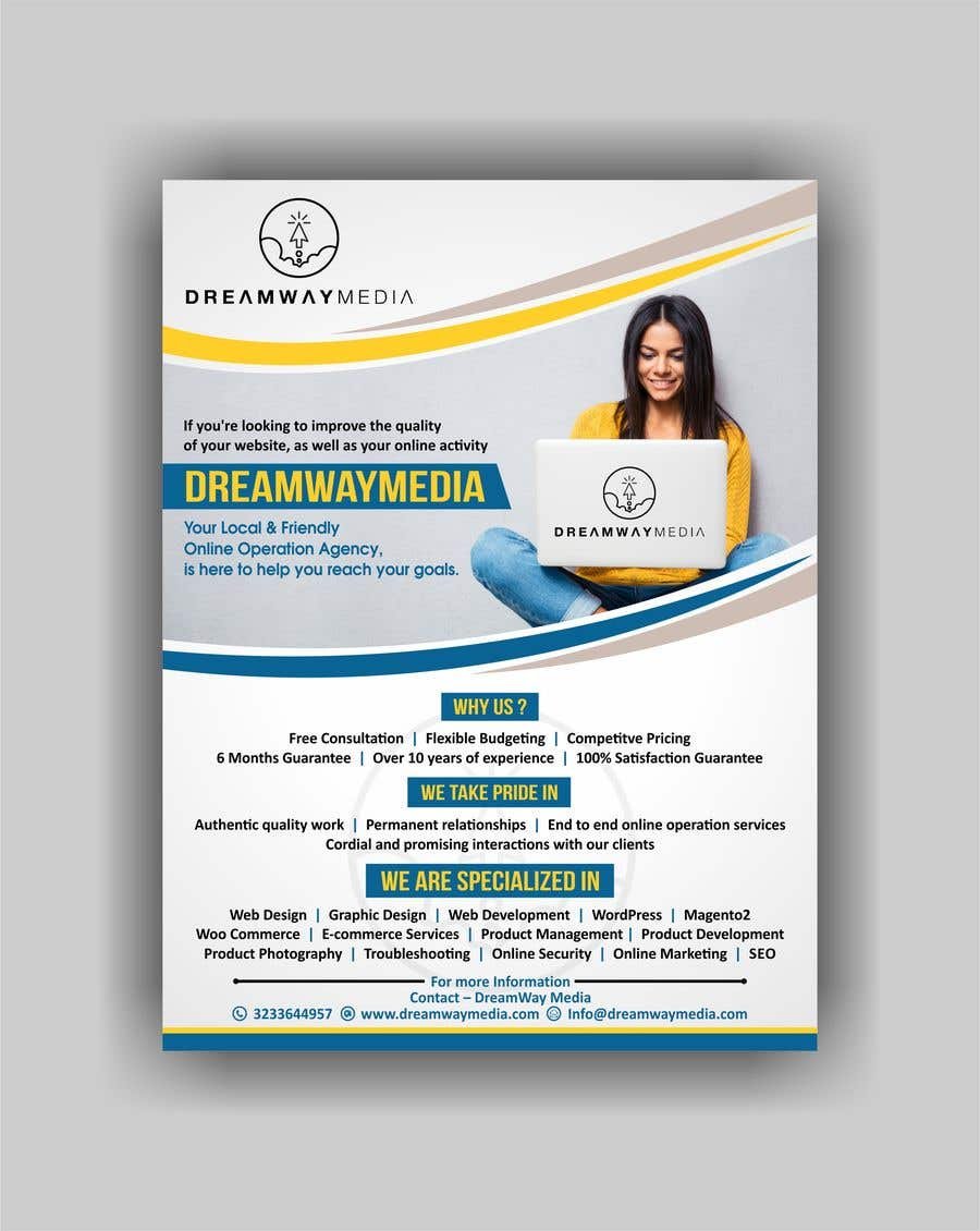 Proposition n°30 du concours Advertisment banner for dreamway media
