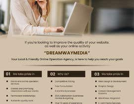 nº 7 pour Advertisment banner for dreamway media par poojapatil474