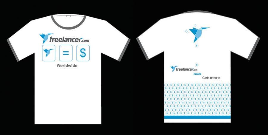Contest Entry #4483 for T-shirt Design Contest for Freelancer.com