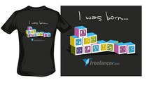 T-shirt Design Contest for Freelancer.com 관련, Graphic Design 콘테스트 응모작 #3299