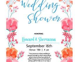 #7 for Wedding Shower and Bachelorette shower invite af dmateen