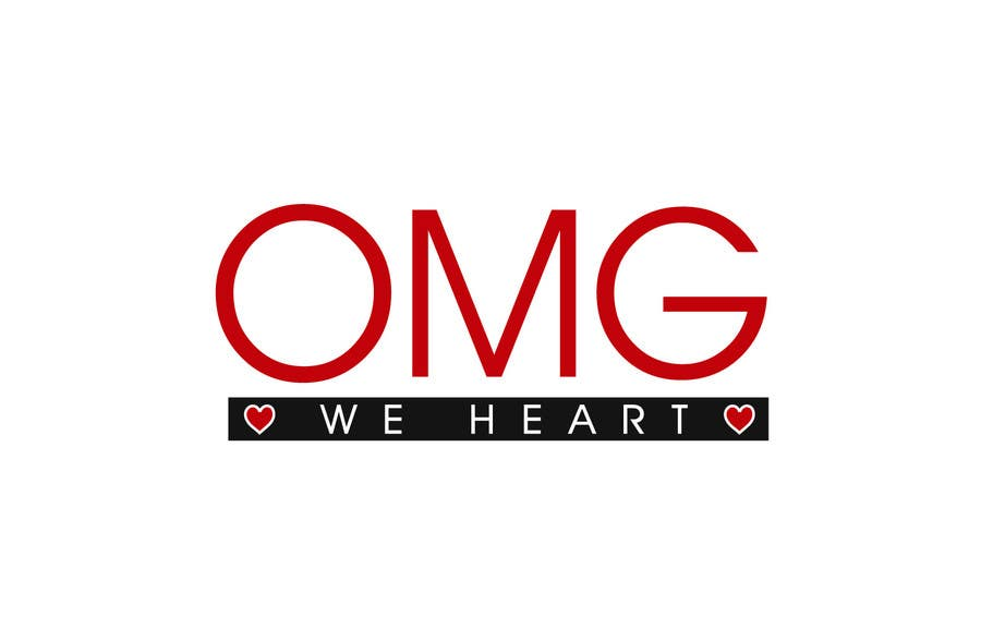 Kilpailutyö #153 kilpailussa Logo Design for new Company name: OMG We Heart.  Website: www.omgweheart.com