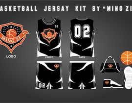 nº 6 pour Basketball jersey par Tajammal007
