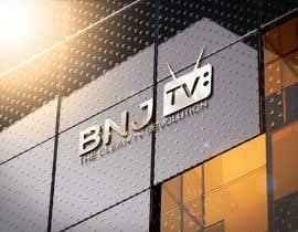 #46 untuk BNJ TV Logo Creation News Channel oleh blackde
