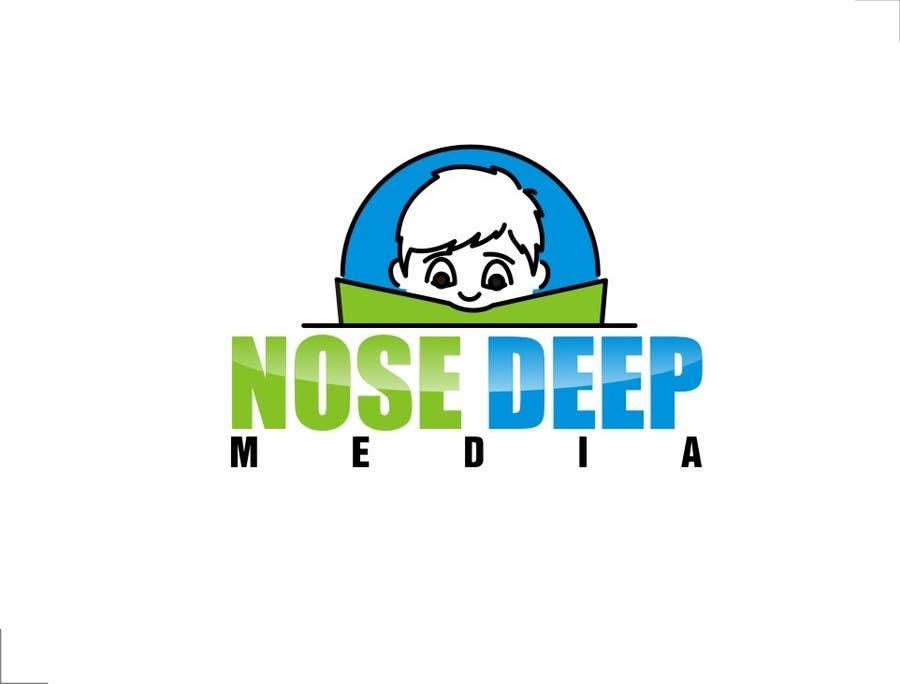 Kilpailutyö #                                        179                                      kilpailussa                                         Logo Design for eBook company Nose Deep Media