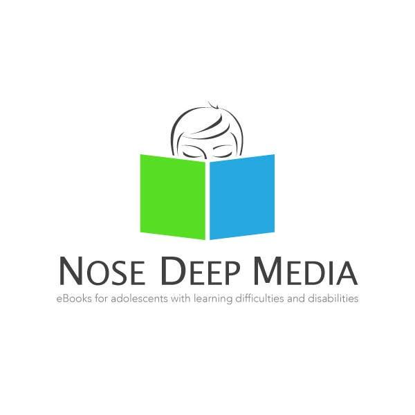 #106 for Logo Design for eBook company Nose Deep Media by DSGinteractive