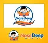 Contest Entry #81 for Logo Design for eBook company Nose Deep Media