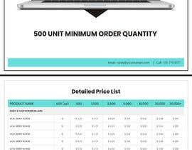#48 untuk Need 2 Company Price List Brochures oleh mahajansanjay05