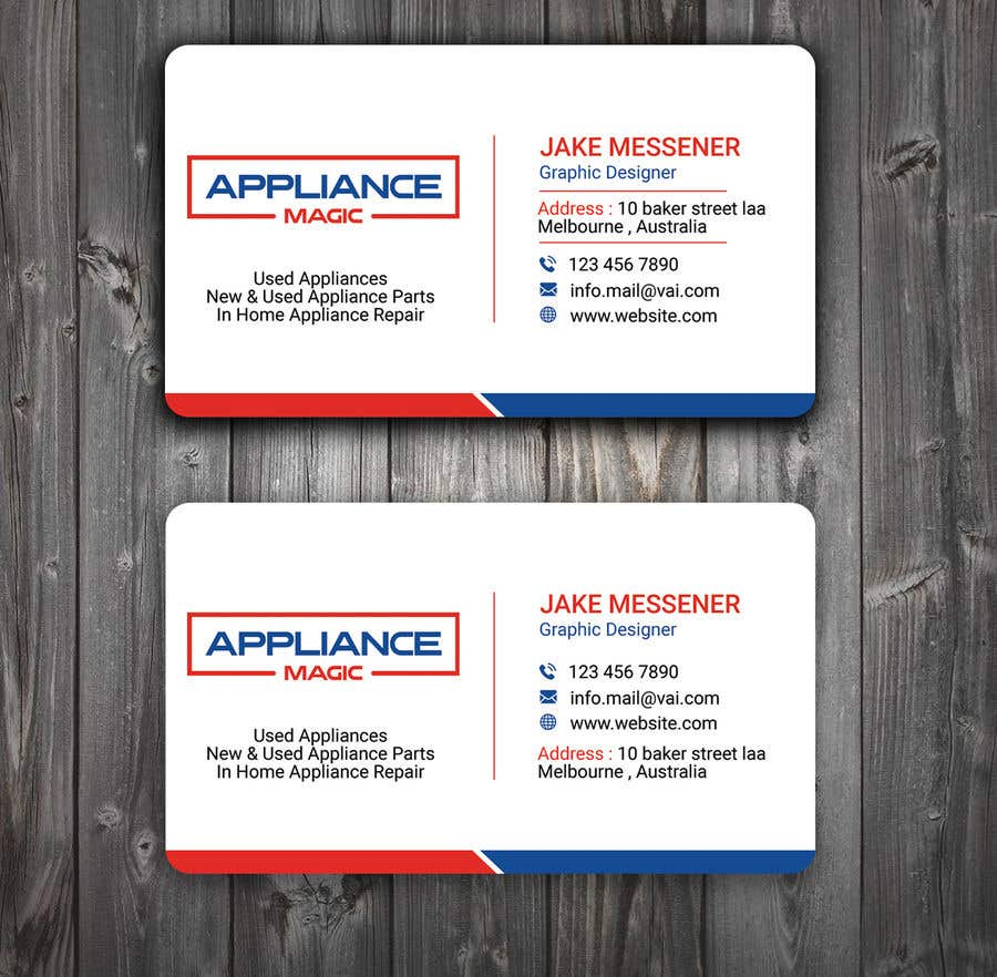 Entry 28 By Tanveermh For Business Card Layout Design