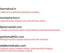 #62 for Suggest me a brand name for online pharmacy and medical services af MichMA