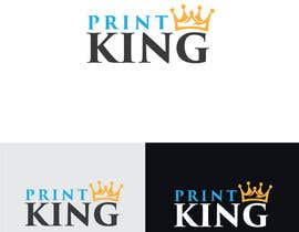 #91 for Design a Logo for PRINT KING by amakondo9999