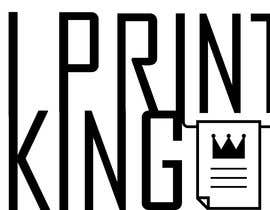 #86 for Design a Logo for PRINT KING by Yaraalawadat