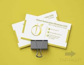 #63 para Shiloh Restoration Ministries business cards de zayedalhridoy