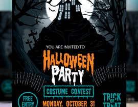 Nro 5 kilpailuun Design a Flyer for Halloween Sponsorships käyttäjältä jubayerkhanab