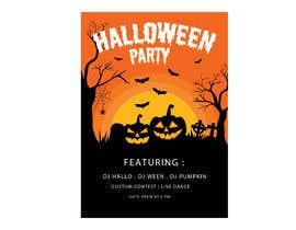Nro 7 kilpailuun Design a Flyer for Halloween Sponsorships käyttäjältä jubayerkhanab