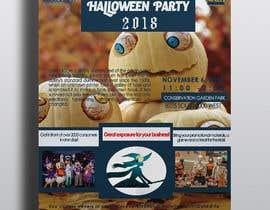 Nro 40 kilpailuun Design a Flyer for Halloween Sponsorships käyttäjältä sylvestar1978