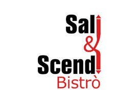 #79 untuk I need a logo for a Bistrò which is call ' Sali & Scendi' ( go up & down) and this place is in a street called 'via della scala' ( steps street) , something funny or old style but not modern please oleh flyhy