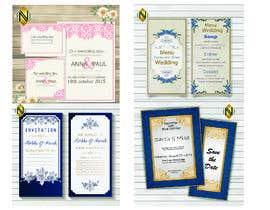 #38 pёr Wedding Invitation nga NazMalik004