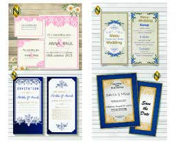 #38 for Wedding Invitation by NazMalik004