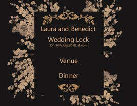 #3 pёr Wedding Invitation nga somasaha979