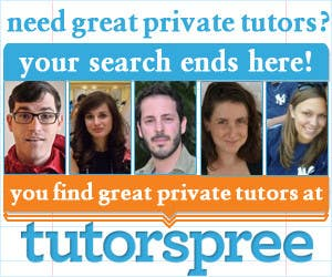 Contest Entry #                                        39                                      for                                         Banner Ad Design for www.tutorspree.com