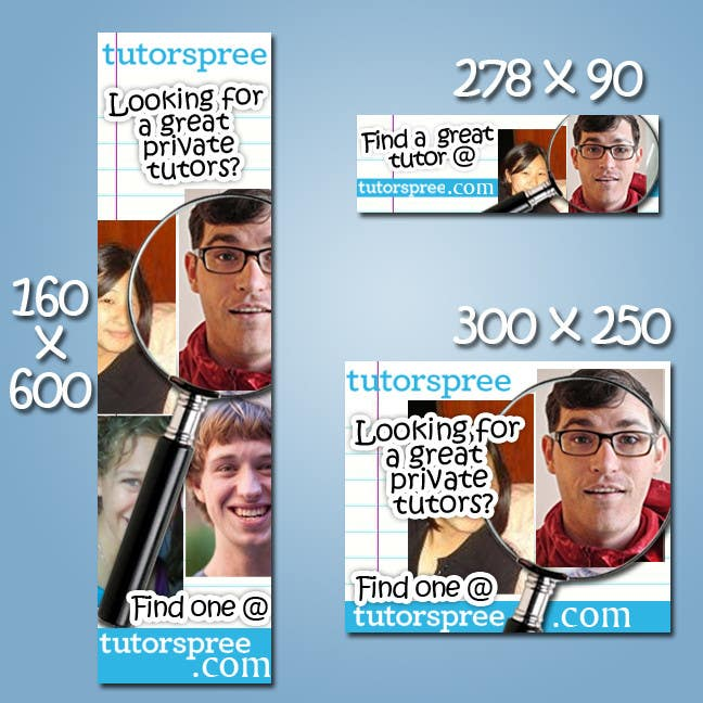 Contest Entry #                                        52                                      for                                         Banner Ad Design for www.tutorspree.com