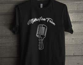 "#5 for T-shirt design ""microphone Feen"" af Ranmaxt"