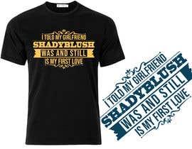 Nro 19 kilpailuun Design a T-Shirt käyttäjältä softboyasad