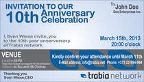 Photography Contest Entry #78 for Corporate Party Invitation Design for 10th anniversary
