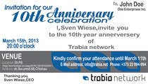 Photography Contest Entry #76 for Corporate Party Invitation Design for 10th anniversary