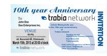 Graphic Design Contest Entry #40 for Corporate Party Invitation Design for 10th anniversary