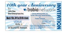 Graphic Design Contest Entry #51 for Corporate Party Invitation Design for 10th anniversary