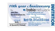 Graphic Design Contest Entry #57 for Corporate Party Invitation Design for 10th anniversary