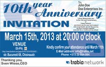 Photography Contest Entry #63 for Corporate Party Invitation Design for 10th anniversary