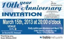 Photography Contest Entry #62 for Corporate Party Invitation Design for 10th anniversary