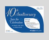 Graphic Design Contest Entry #83 for Corporate Party Invitation Design for 10th anniversary