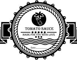 "#2 for 2.5"" round labels for Homemade Tomato Suace in a jar af MuqeettheLegend"