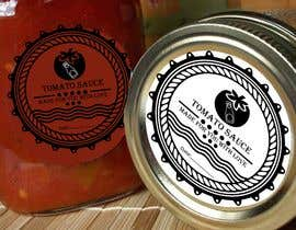 "#6 for 2.5"" round labels for Homemade Tomato Suace in a jar af MuqeettheLegend"