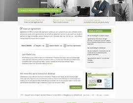 nº 9 pour Graphic redesign - FRONT PAGE and sub template - agreement24.com website par Pavithranmm
