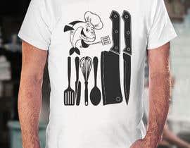Nro 37 kilpailuun Graphic Designs for a Chef käyttäjältä Shawon11