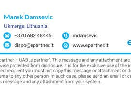 #6 for I need  graphic design of clickable HTML email signature. by rezaul2013