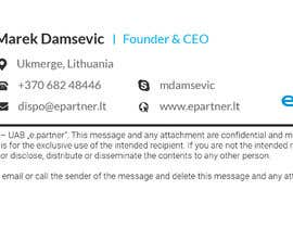 #9 for I need  graphic design of clickable HTML email signature. by rezaul2013