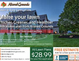 #21 for Design a print ad for a lawn care business af wricksarya