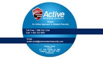 Graphic Design Contest Entry #128 for Business Card Design for Active Network Security.com