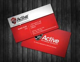 #11 dla Business Card Design for Active Network Security.com przez topcoder10