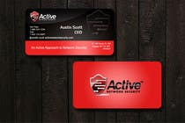 Graphic Design Contest Entry #14 for Business Card Design for Active Network Security.com