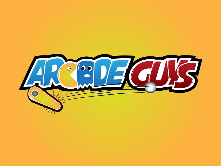 #146 for Logo Design for Arcade Guys by alinhd