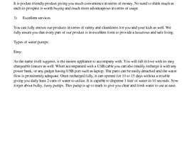 nº 1 pour One page web content writing par Afreen2977