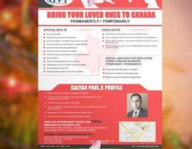 #12 cho Design a Flyer for immigration firm bởi stylishwork